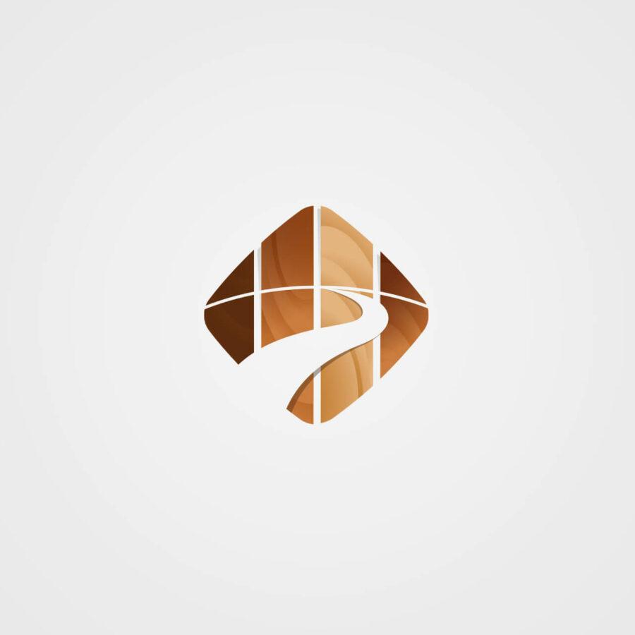 Création de logo Camino Bois