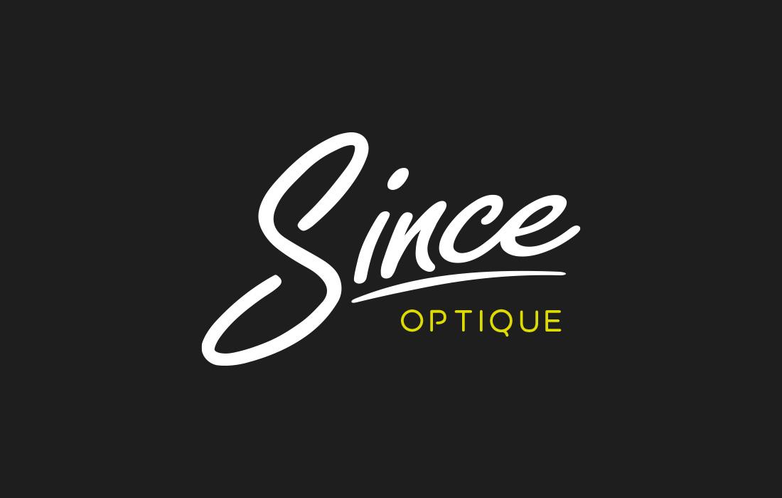 Création de logo : Since Optique
