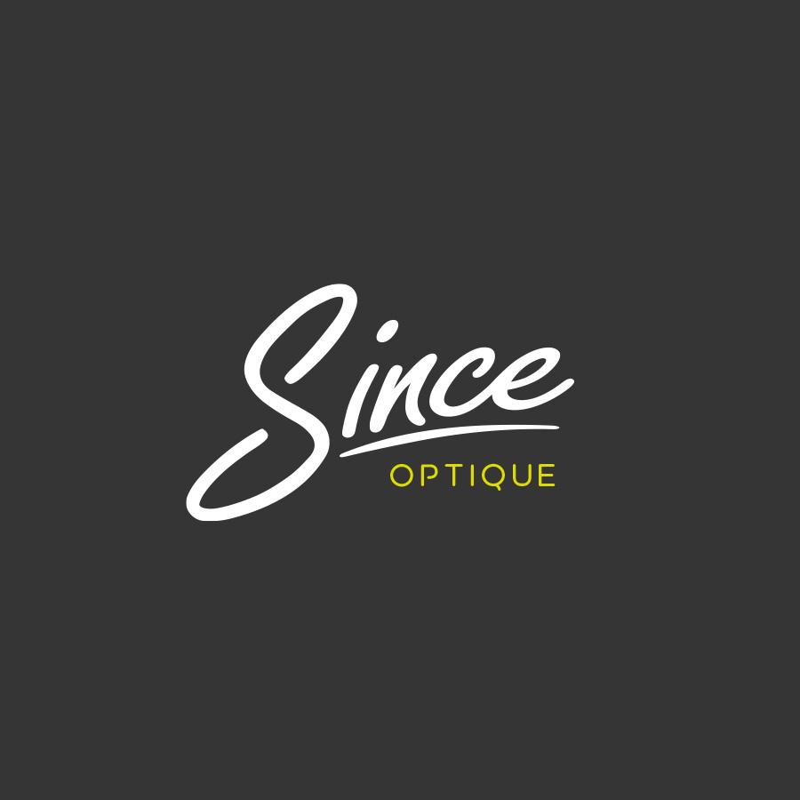 Création de logo Since Optique