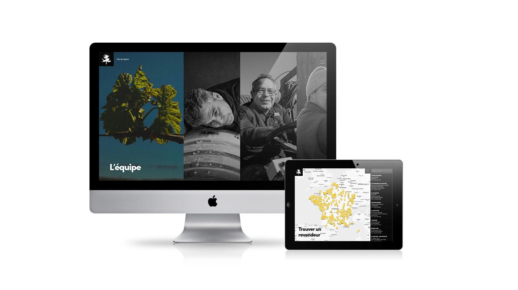 Création de site internet / E-commerce : Château du Cèdre
