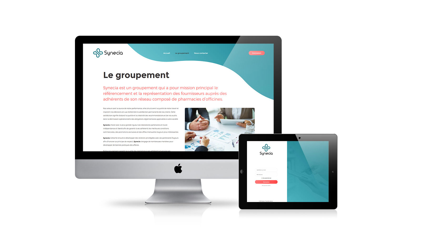 Création de site internet : Pharma Synergie