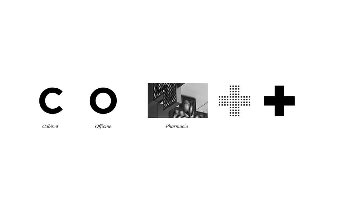 Création de logo : Cabinet de l'Officine
