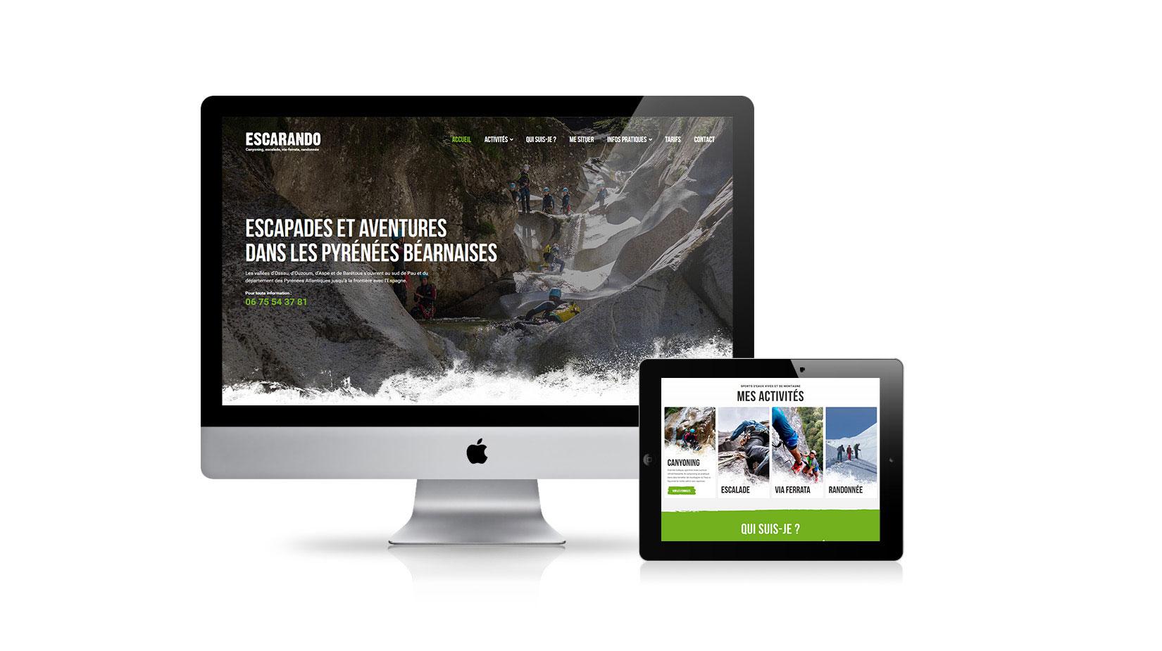 Création de site internet : Aventure Chlorophylle