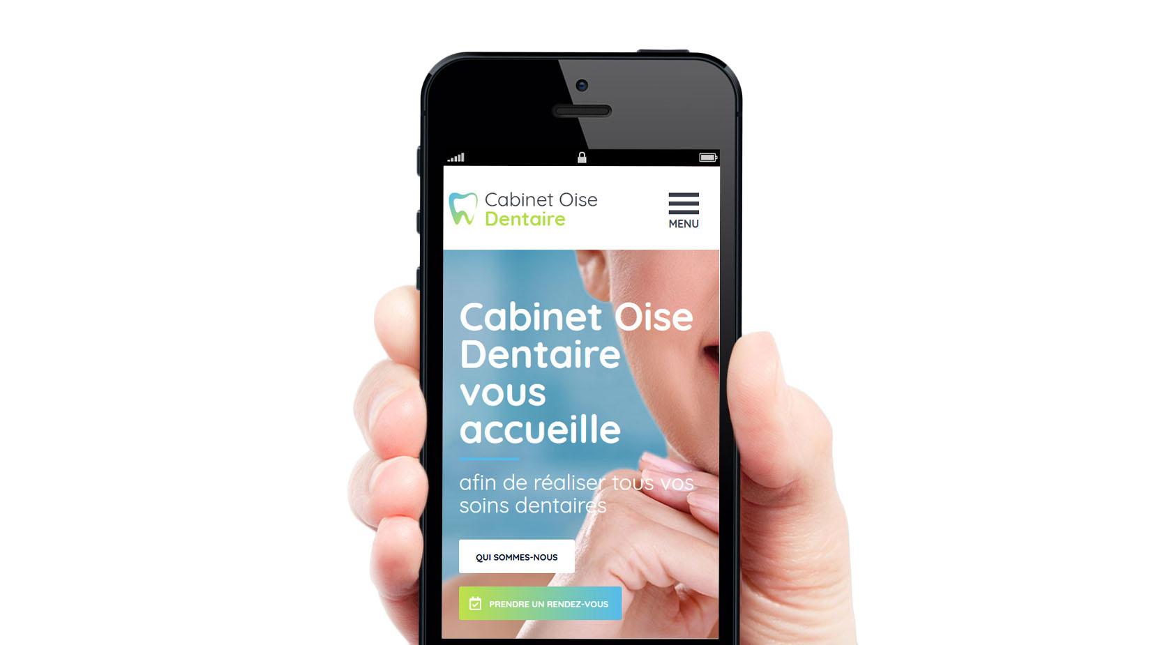 Création de site internet : Cabinet Oise Dentaire
