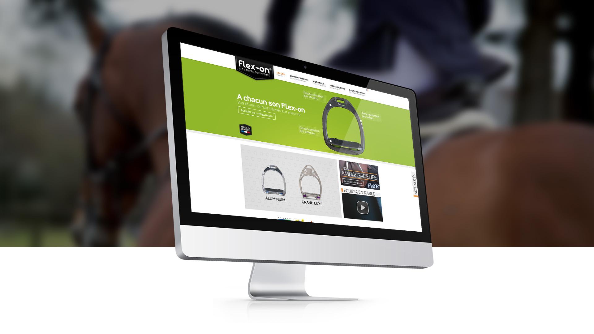 E-commerce : Flex-on