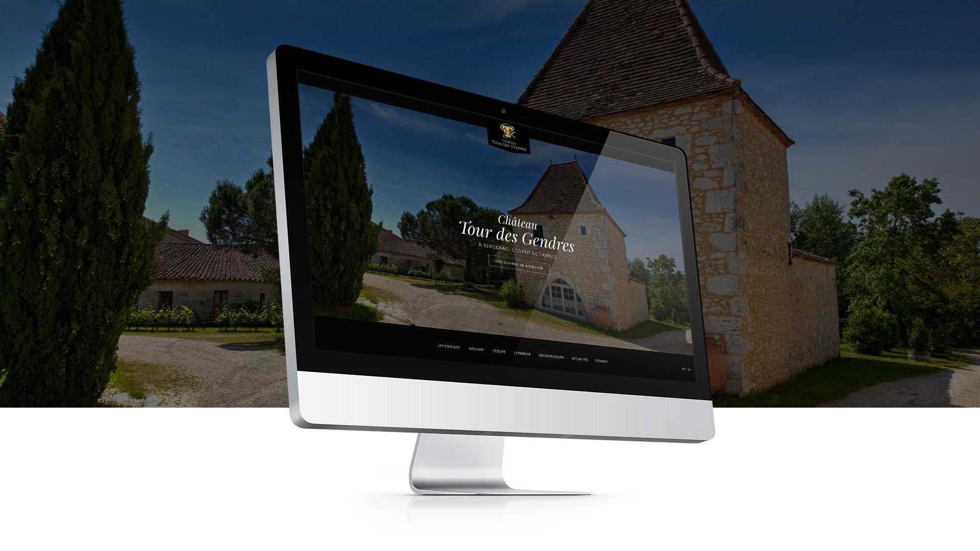 Création de site internet : Tour des Gendres