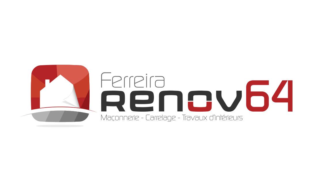 Création de logo : Ferreira Renov 64