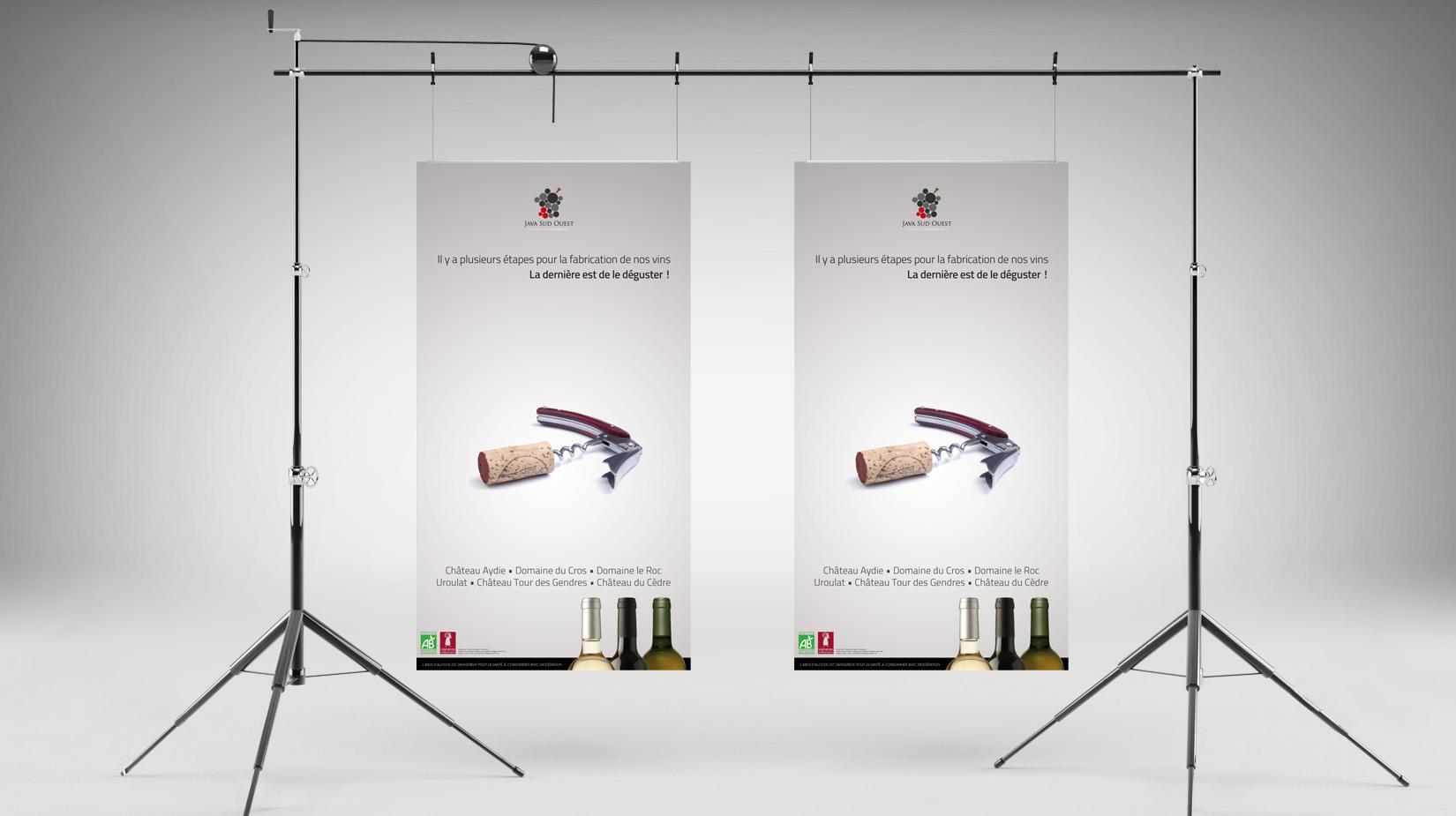Campagne publicitaire : Java Sud Ouest